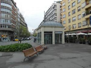 Estació FGC de Sant Gervasi i Plaça Molina